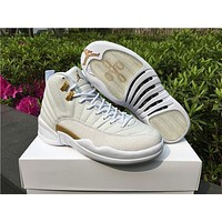 Air Jordan 12 OVO ¡°White¡± AJ 12 Men Women Basketball Shoes