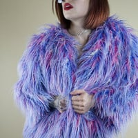 Bubble Yum Faux Fur Coat