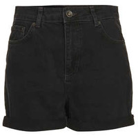 Tall MOTO Black Mom Shorts - New In This Week  - New In