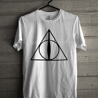 Harry Potter Deathly Hallows T Shirt Fangirls -EN Unisex T- Shirt For Man And Woman / T-Shirt / Custom T-Shirt