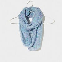 AEO Floral Shine Loop Scarf | American Eagle Outfitters