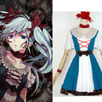 "Vocaloid Miku Hatsune ""Mechanical Clown"" Costume Outfit Dress"