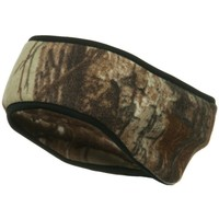 Light Weight Fleece Camo Head Band - Realtree AP