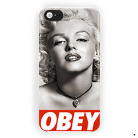 Marilyn Monroe Obey Poster For iPhone 5 / 5S / 5C Case