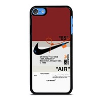 OFF WHITE NIKE AIR JORDAN iPod Touch 7 Case