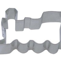 """CybrTrayd R&M Locomotive 3"""" Cookie Cutter in Durable, Economical, Tinplated Steel"""