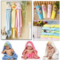 100% cotton Cute cartoon baby stuff newborn baby hold blanket soft air conditioning quilt baby towel comfortable bath towel