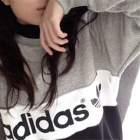Fashion Letter Printing Leisure Top Sweater Sweatshirt