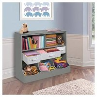Badger Basket Combo Bin Storage Unit with Three Baskets