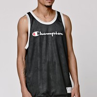 Champion Reversible Mesh Tank Top - Mens Tee