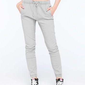 Rusty Get Hooked Womens Jogger Pants Charcoal  In Sizes