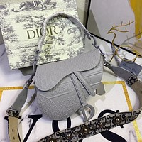 Christian Dior Women Leather Shoulder Bags Satchel Tote Bag Handbag Shopping Leather Tote Crossbody Satchel 26*20*6CM