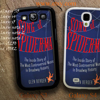 Song of Spider Man Case For iPhone 5/5c/5s/4/4s,Galaxy S5/S4/S3