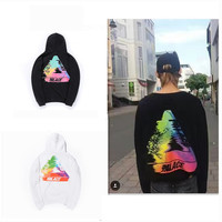 Fashion Men Hoodies Skateboard Palace Hoody Hip Hop Streetwear Rock Pullover Unisex Sweatshirt Male 2017 Tracksuit ZOOTOP BEAR