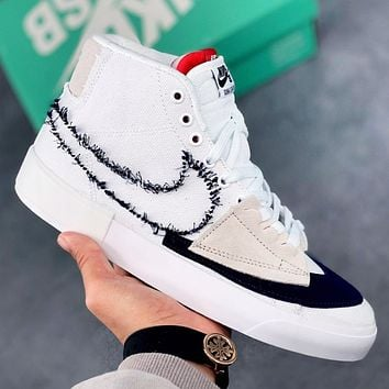 Nike SB Zoom Blazer Mid Edge Hack Pack New Fashion Hook Women Men Shoes