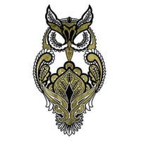Metallic Owl