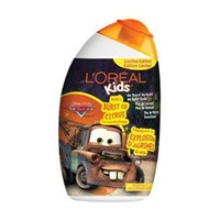 Buy L'Oreal Paris Kids Cars2 2-In-1 Shampoo (Limited Edition) Mater's Burst of Citrus 265 mL Online in Canada | Free Shipping