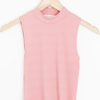 Mock Neck Tank Top