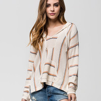 Billabong Bonfire Beach Womens Hoodie Cream  In Sizes