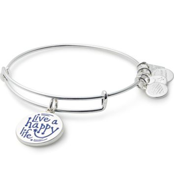 Live a Happy Life Charm Bangle | Joe Andruzzi Foundation