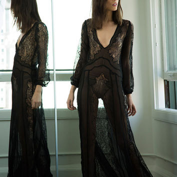 VERMONT GOWN- BLACK | Stone Cold Fox