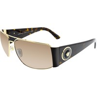 Versace Women's VE2163-100273-63 Brown Rectangle Sunglasses