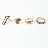 Leafy Texture Ring