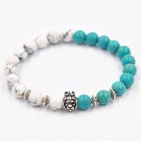 Shiny Great Deal Stylish Gift New Arrival Awesome Hot Sale Accessory Turquoise Crown Bracelet [4970309572]