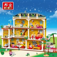 BanBao Girl Educational Toys For Children Kids Gifts Castle City Friend Pet Princess Prince Horse Compatible with Legoe