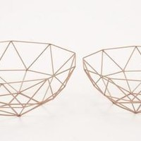 Durable Set Of Two Metal Baskets