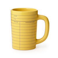 Library Card Mug | book accessories, coffee mug