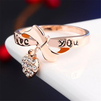 Love Bow Ring