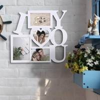 "Valentine's Day Gift Ideas: I ""Heart"" You Photo Frame 12.99 !!! -- Adeco"