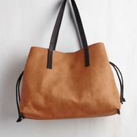 In-Depth Percussion Bag in Terra-cotta by ModCloth