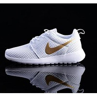 nike trending fashion casual white sports shoes-1