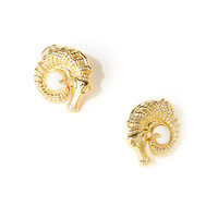 Lilly Pulitzer Alley Gator Earrings
