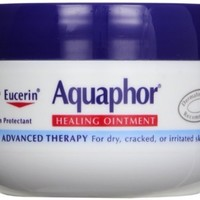 Aquaphor Healing Ointment, Dry, Cracked and Irritated Skin Protectant, 3.5 Ounce (Pack Of 3)