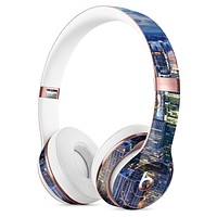 Night Aerial NYC Full-Body Skin Kit for the Beats by Dre Solo 3 Wireless Headphones