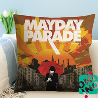 Mayday Parade A Lesson In Romantics Album Cover Zippered Pillow Case, Cushion Case, Pillow case