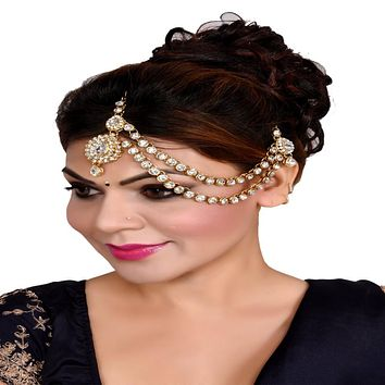 Indian Style One Sided Matha Patti For Women