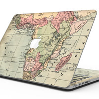 The Vintage African Map - MacBook Pro with Retina Display Full-Coverage Skin Kit