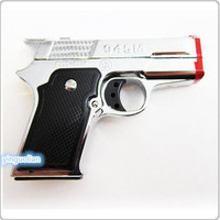 TWIN FLAME DOUBLE TORCH PISTOL GUN LIGHTER smoking party Funny perfect party gift shipping from USA
