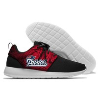 New Running Shoes Lace Up Sport Shoes confortable Jogging England Patriots Walking Athletic Shoes light weight