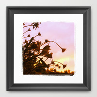 Fall Flowers Framed Art Print by Shayna Andrus