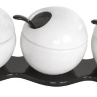 Spice Bowls - Set of Three - White from My Maison Designs | Made By My Maison | £19.99 | BOUF
