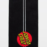 SANTA CRUZ Classic Dot Beach Towel | Bath