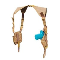 Vertical Shoulder Holster Color- Tan