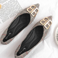 Free Shipping-Balenciaga Tide brand female style fashion pointed shallow mouth single shoes #2