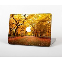 """The Fall Back Road Skin Set for the Apple MacBook Air 11"""""""