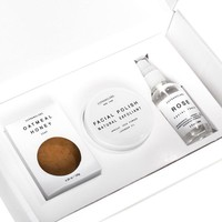 SopranoLabs - Cleansing & Clarifying Beauty Set. All Natural Face Gift kit